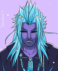 Palette warm-up Ft. Xemnas (II) by TheIronbirdOfficial