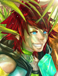 .:KH2G:.Chilling under the Tree by LainyLu