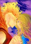 .:FlamePrinceXFionna:. Collar Full by LainyLu