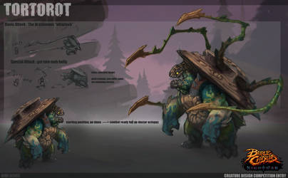 battle chasers competition: Tortorot by DimiDevos