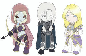 WoW Icecrown Minis by Ghostey