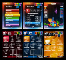 Tetris Mobile Concepts by ElusiveOne
