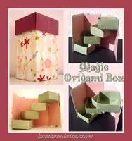 Magic Origami Box by KarenKaren