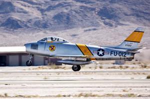 F86 Taking off by phlatz