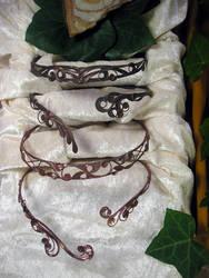 Necklaces II by Schnoerkelschmuck
