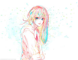 :: Rainbow Blue :: by Sangrde