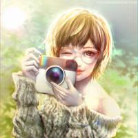 :: Insta Girl :: by Sangrde