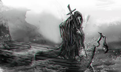 :: Charon the Ferryman :: by Sangrde