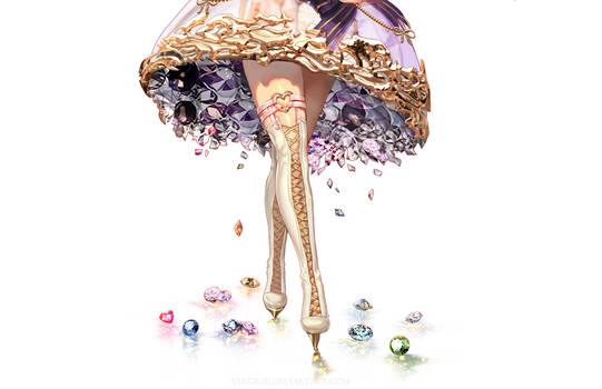 Jewel dress by Sangrde