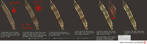 :: Photoshop Gold Tutorial :: by Sangrde