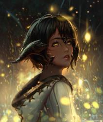 :: Fireflies :: by Sangrde