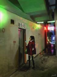 :: Dongdaegu Alley :: by Sangrde