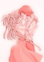 Kiss me softly. by sabo-p