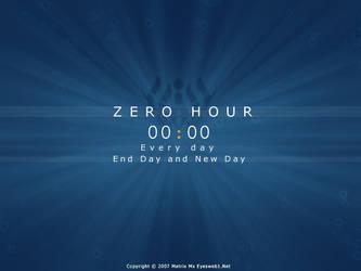 Zero Hour by eyesweb1