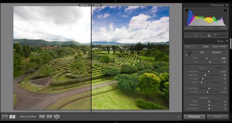 Graduated Filter In Lightroom by eyesweb1