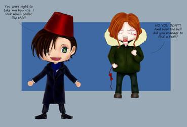The Doctor's new costume by cloeliae