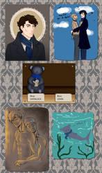 Have some Sherlock II by cloeliae