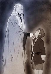 A king and a burglar by cloeliae
