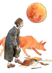 Werewolf kid by Yonetee