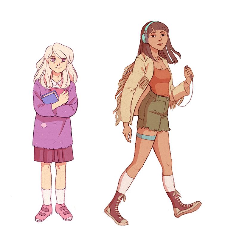 Girls by Yonetee