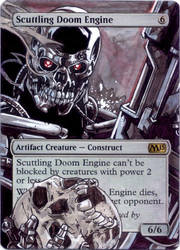 Scuttling Doom Engine - Terminator by MTGAlters