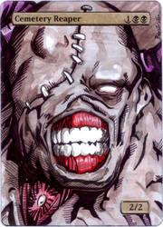 M12 Cemetery Reaper - Nemesis (Resident Evil) by MTGAlters