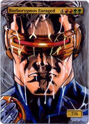 Gatecrash Borborygmos Enraged - Cyclops (X-men) by MTGAlters