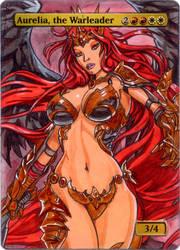 Gatecrash Aurelia, the Warleader - League of Angel by MTGAlters