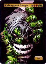 Gatecrash Borborygmos Enraged - The Hulk by MTGAlters