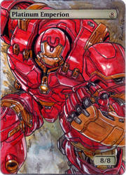 SOM Platinum Emperion - Ironman, Hulkbuster by MTGAlters