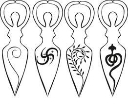 The Spiral Goddess by shaktya