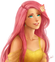 Fluttershy 2.0 by Sanctinel