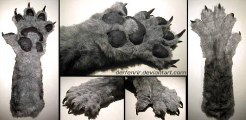 Werewolf paw by DerFenrir