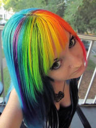 Rainbow Dash Hair by SomberxEcstasy