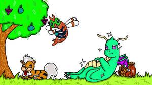 Pokemon Background by IWantAnEnderman