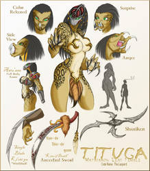 Tituga Study Sheet by Peanuttie