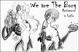 We Are The Borg by Peanuttie