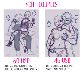 YCH - SEXY COUPLES by Magic-Ray