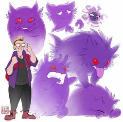 pokemon trainer!sona by SAMH0UND