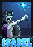 Isabele Lightning Badge Upload by Kraden