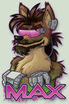 Badge - Max Fuchs Coyote by Kraden
