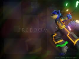 Freedom of Life - 1024x768 by Kraden
