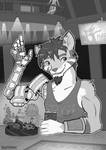 WanderingFeline - Saturn 5 Bar and Grill by Kraden