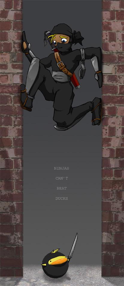 Ninja-Duck by Kraden