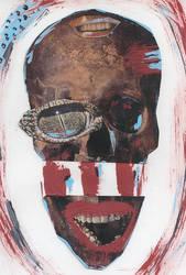 Skull Collage by Okayristen