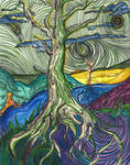 the tree on the hills by alicia-c