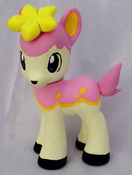 Deerling My Little Pony Custom by Pinkproposal
