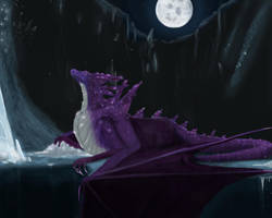 Gemstone dragon (request) by ThemeFinland