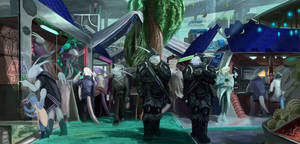 Market patrol (commission) by ThemeFinland