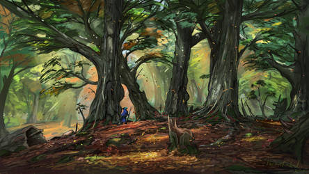 Ancient Forest by ThemeFinland